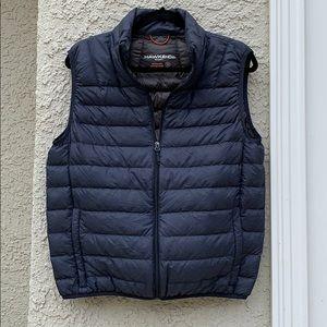 Hawke & Co Down Puffer Vest Navy Men's Size S